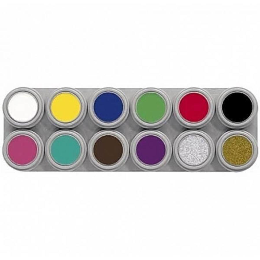 Grimas schmink palette 12 kleuren A