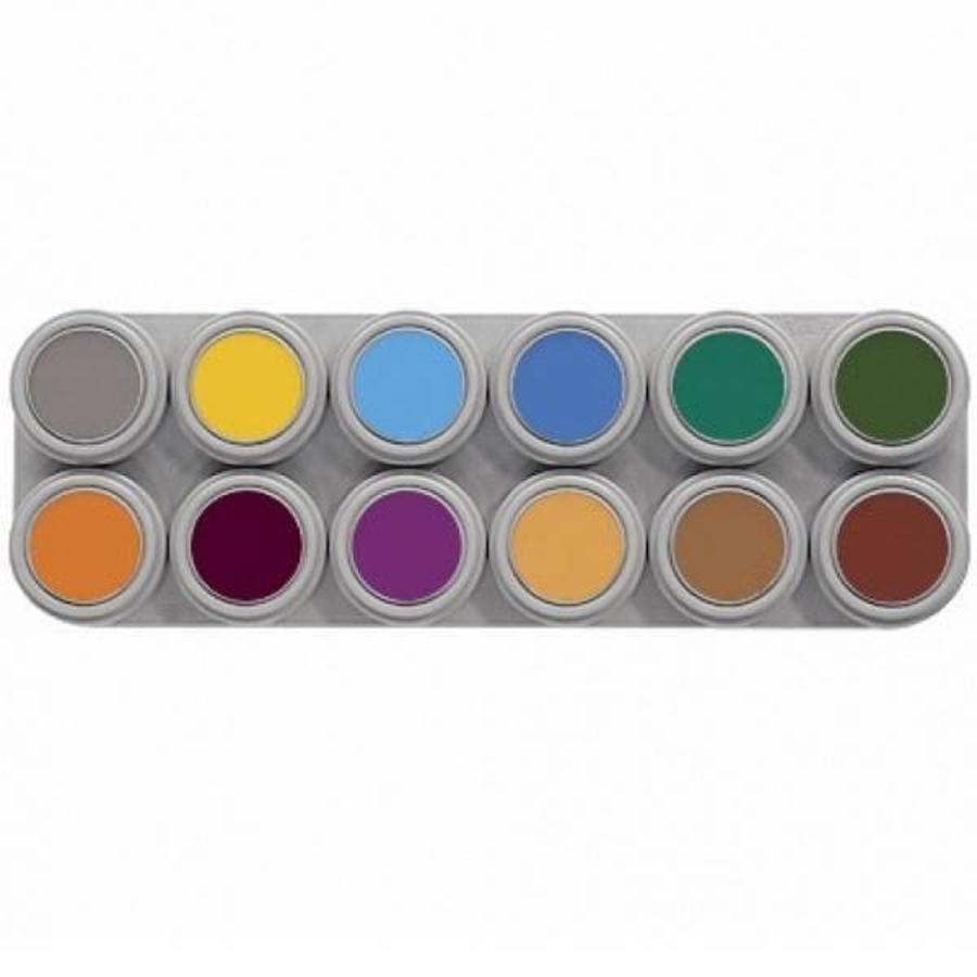 Grimas schmink palet 12 kleuren B