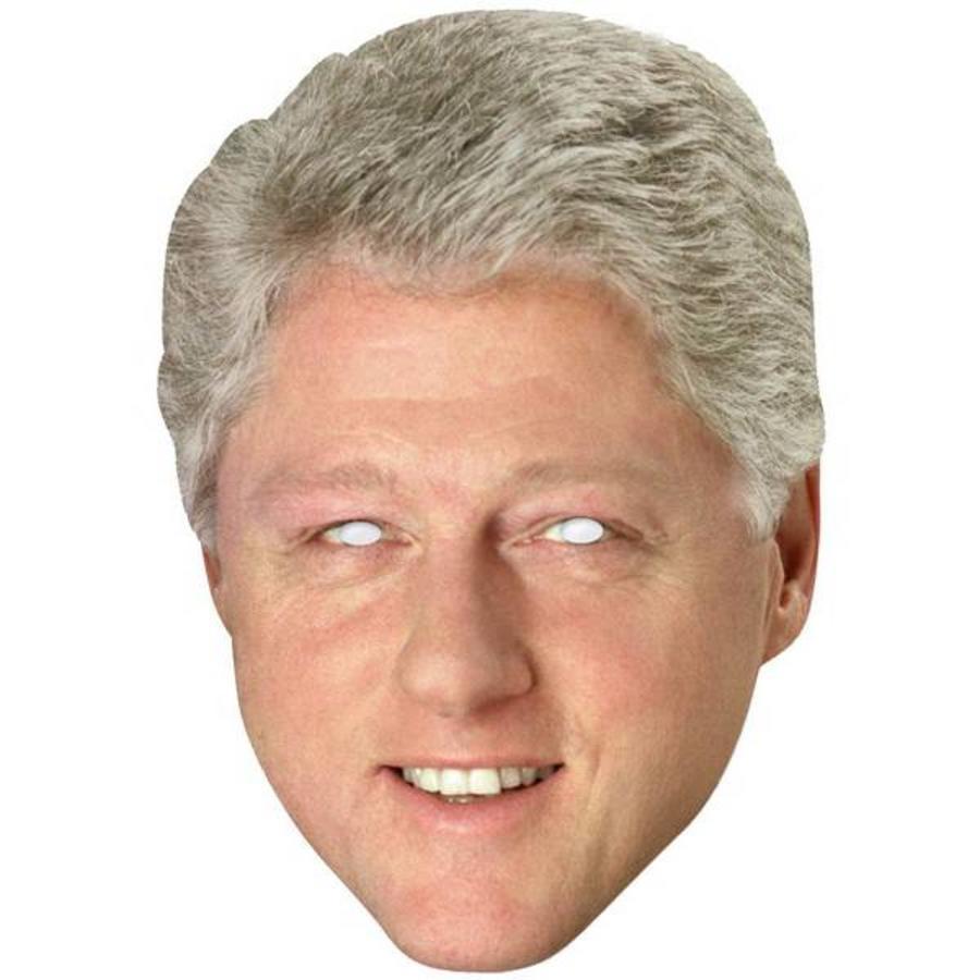 Masker Bill Clinton