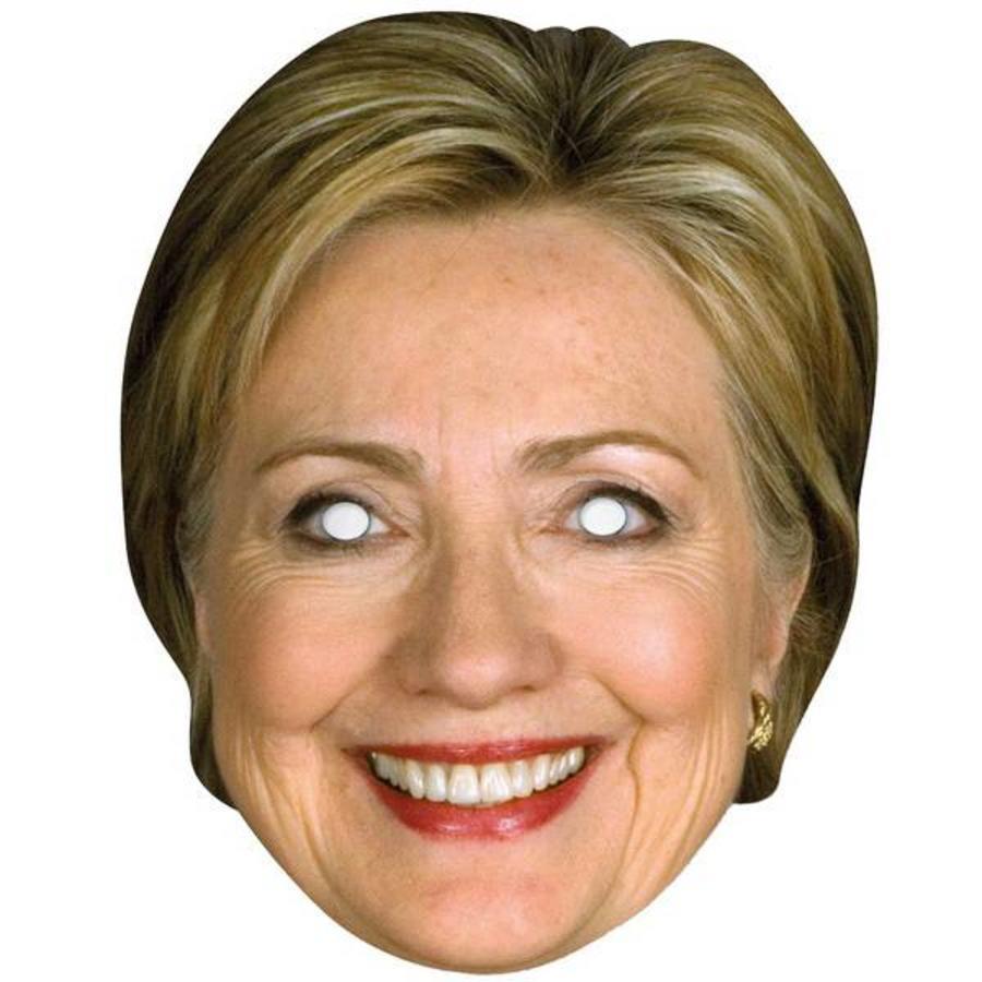 Masker Hillary Clinton