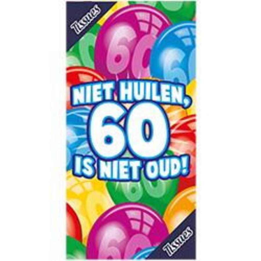 Tissue box 60 jaar