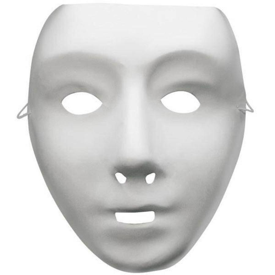 Masker grimeer wit vrouw