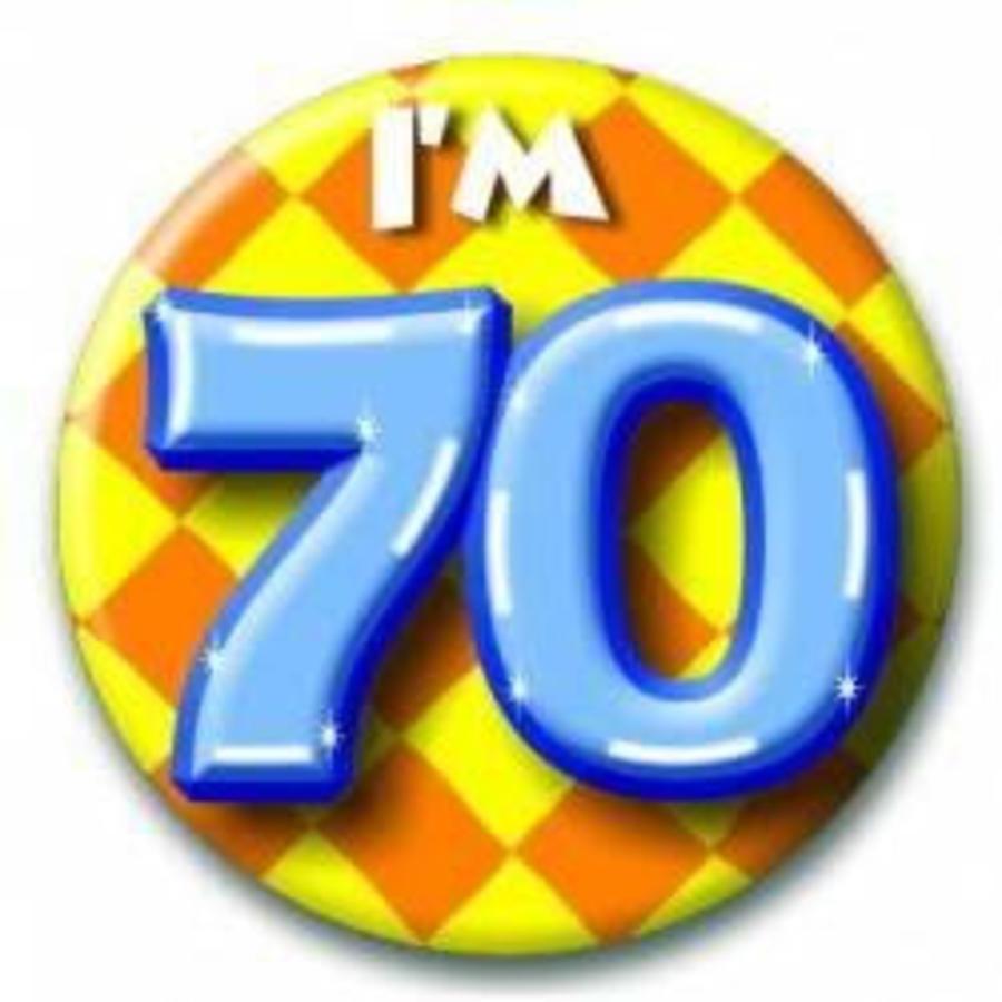 Button 70 jaar