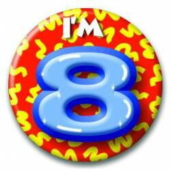 Button 08 jaar