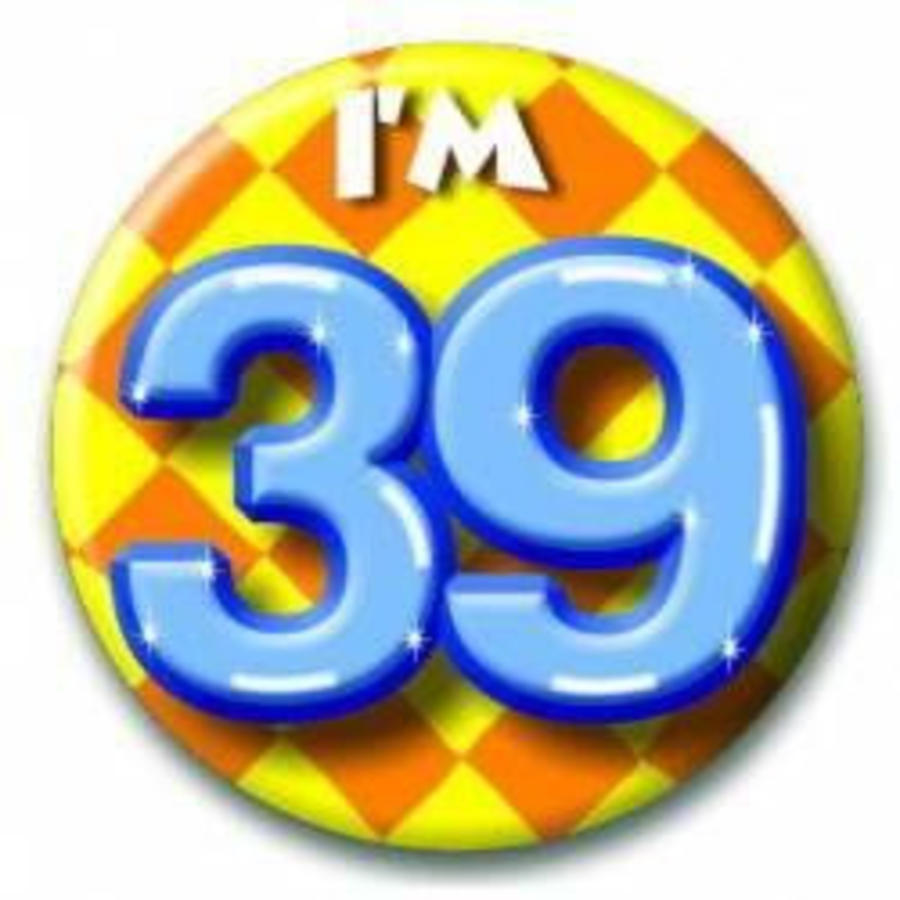 Button 39 jaar