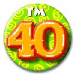 Button 40 jaar