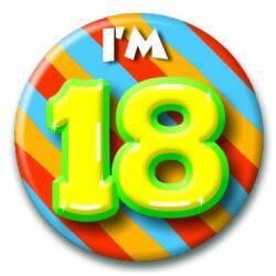 Button 18 jaar