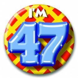 Button 47 jaar