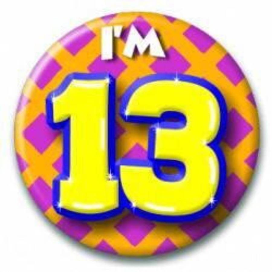 Button 13 jaar