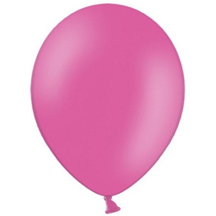 Ballonnen donkerroze 10 stuks