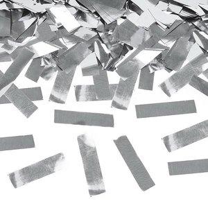 Confetti Cannon luxe zilverkleurig