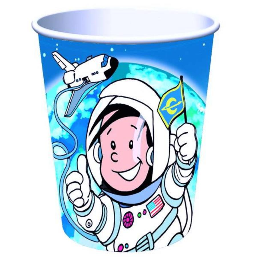 Bekertjes Astronaut 8 stuks
