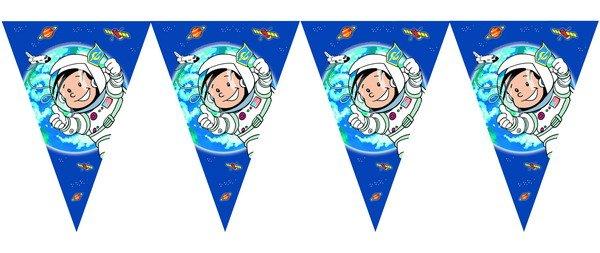 Vlaggenlijn Astronaut