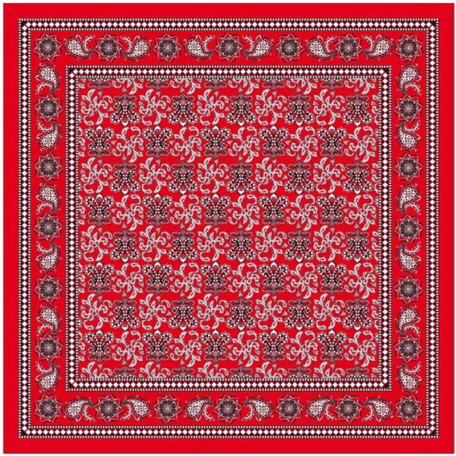 Zakdoek luxe rood luxe