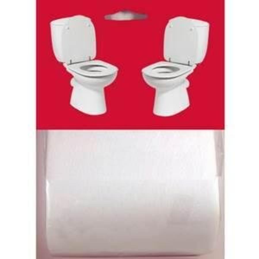 Toiletpapier niet afscheurbaar