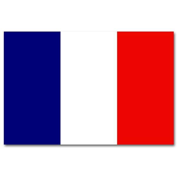 Vlag Frankrijk 90 x 150cm