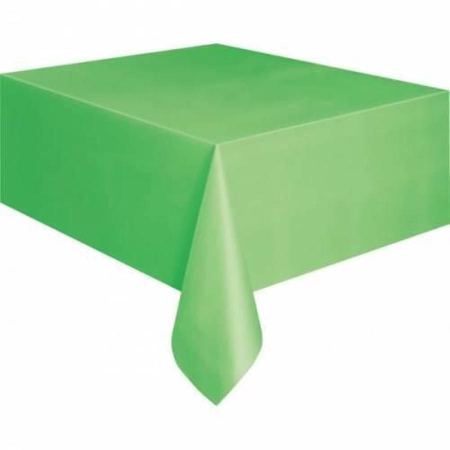 Tafelkleed lichtgroen plastic