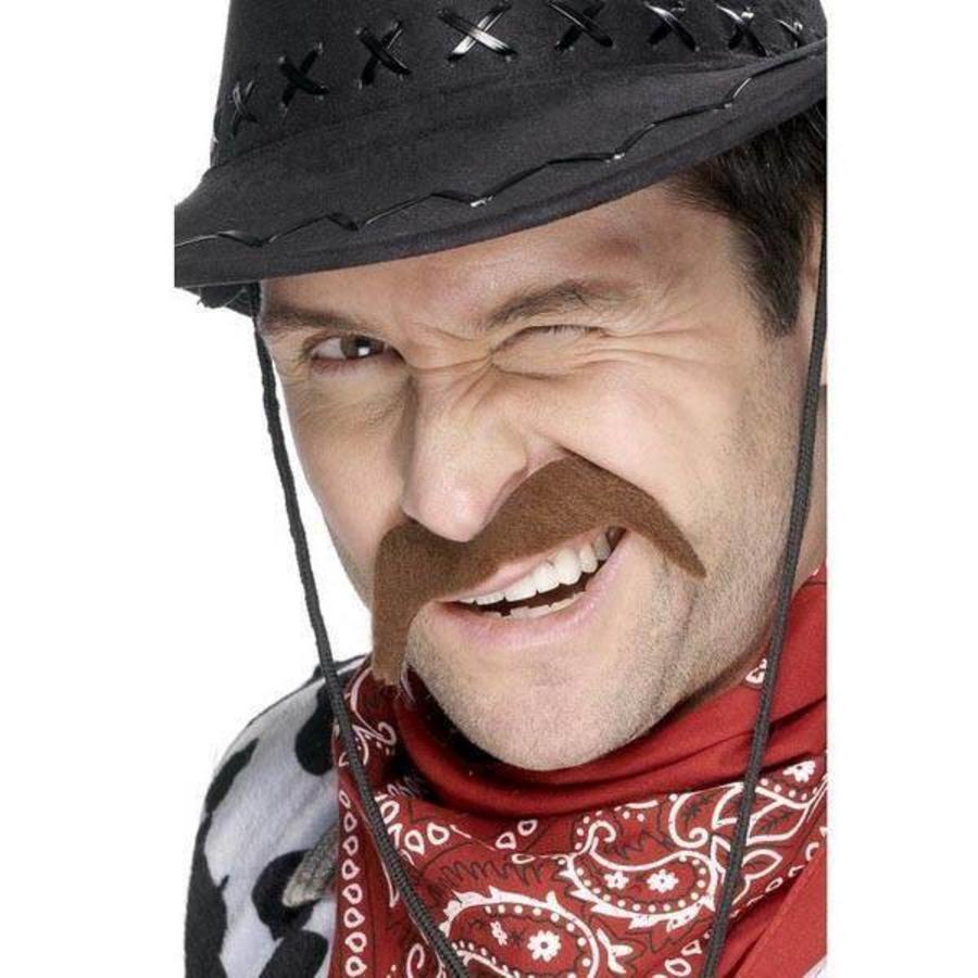 Snor cowboy bruin