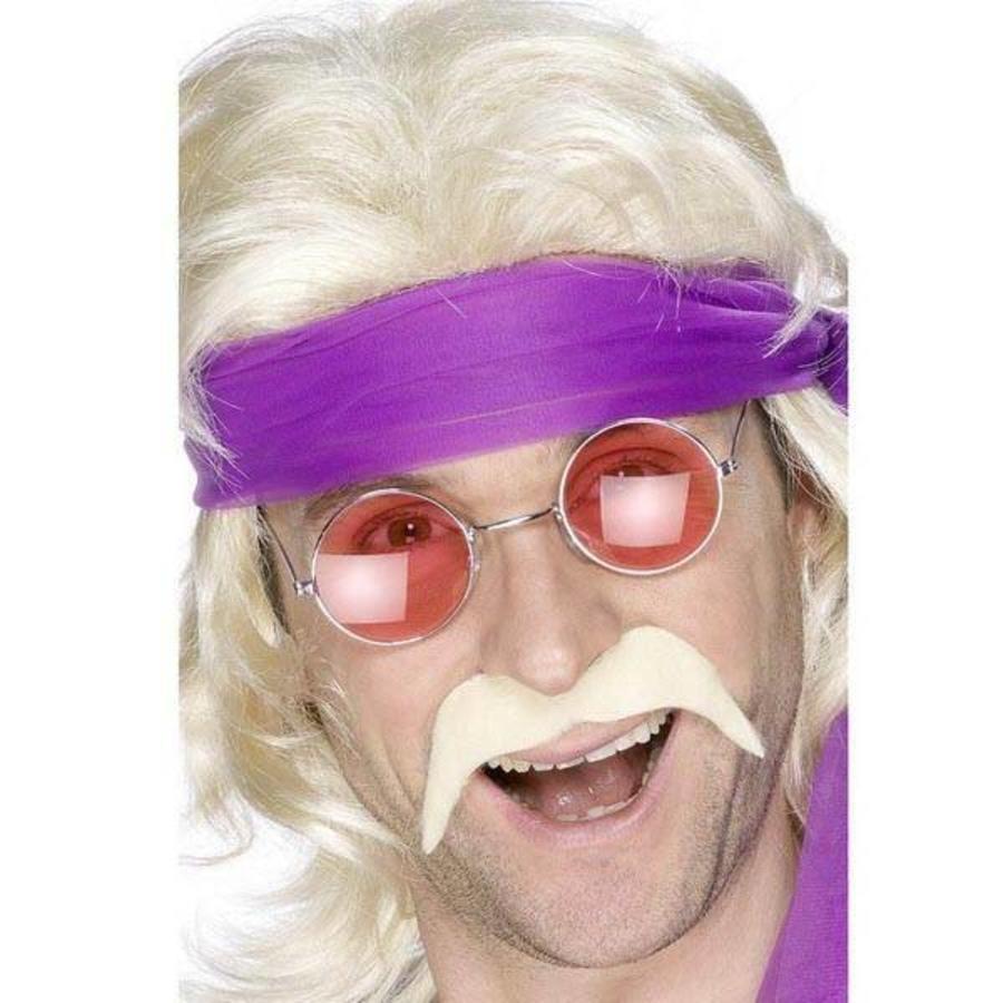 Snor seventies blond