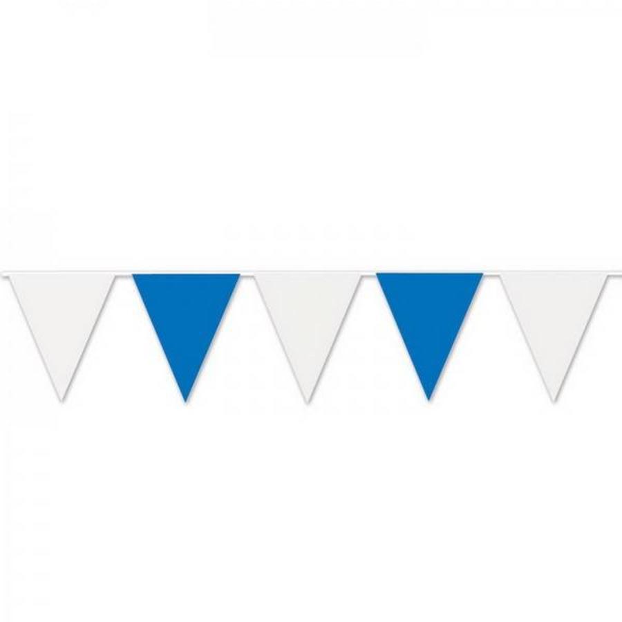 Vlaggenlijn blauw-wit 10 meter