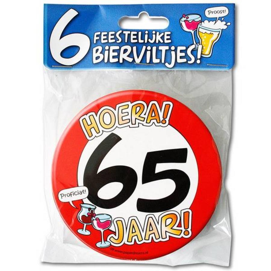 Bierviltjes 65 jaar