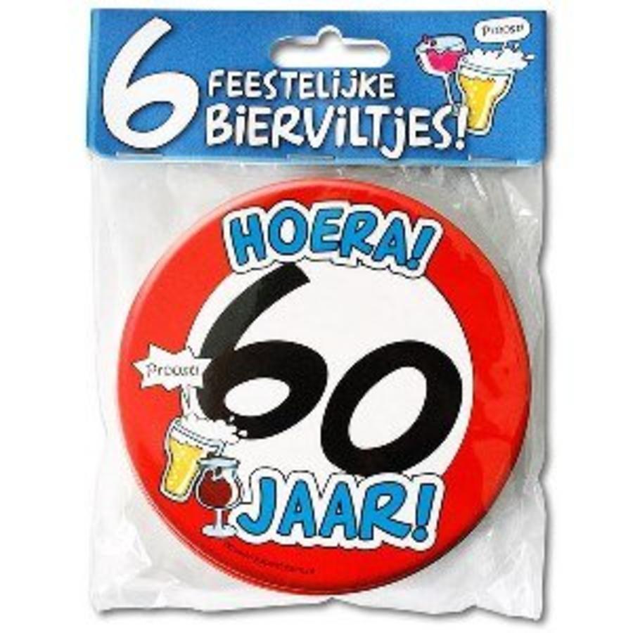 Bierviltjes 60 jaar