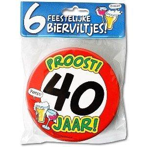 Bierviltjes 40 jaar
