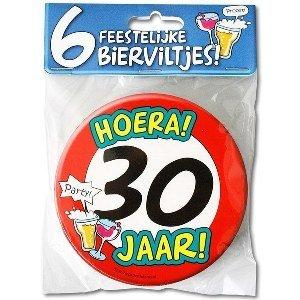 Bierviltjes 30 jaar