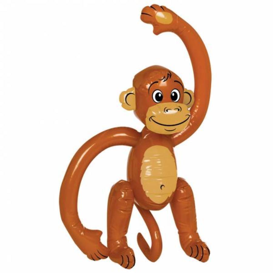 Opblaasbare aap normaal