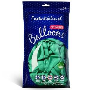 Mintgroene ballonnen