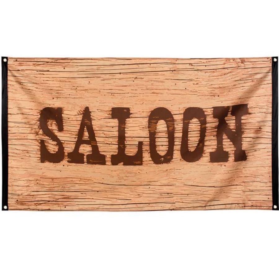 Gevelvlag Wild West saloon
