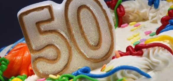 Betere Inspiratie voor een 50e verjaardag. Lees het blog! - Feestartikelen.nl EF-91