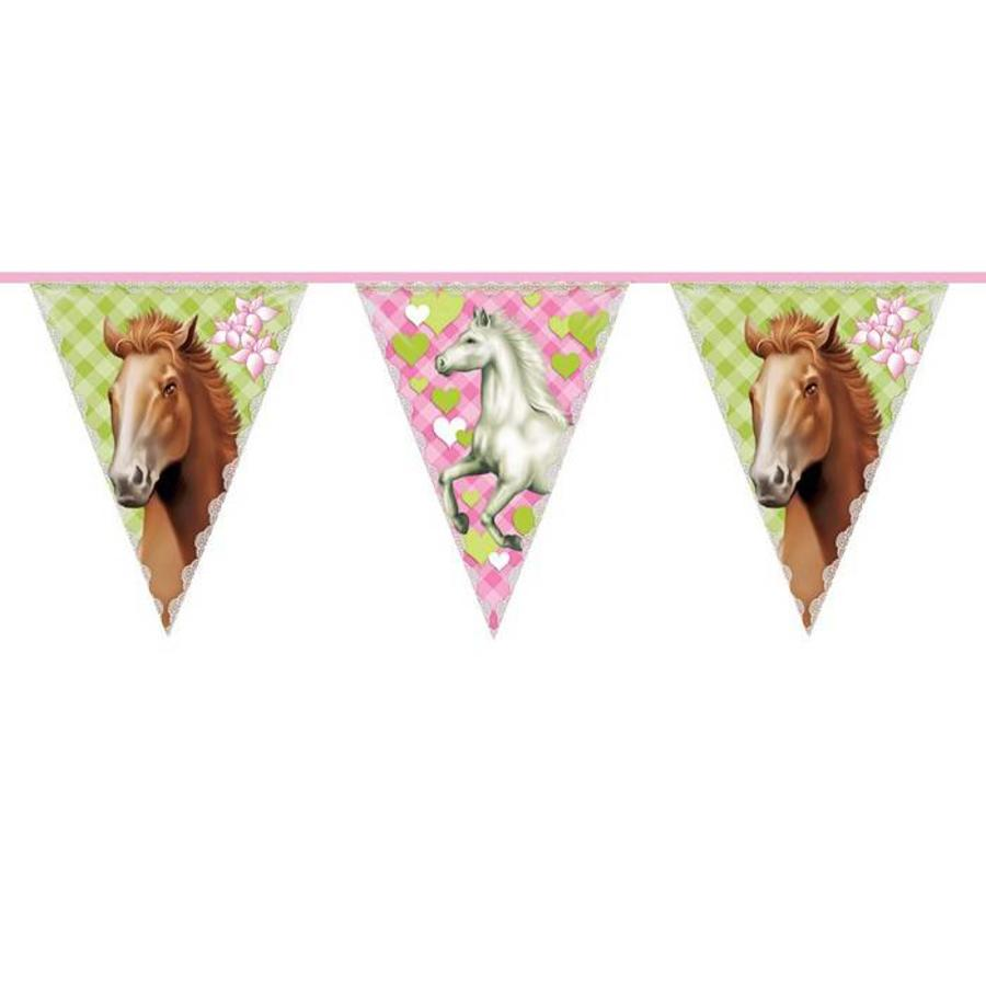 Paarden vlaggenlijn 10 meter