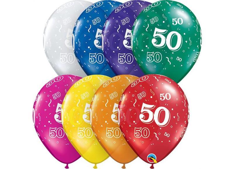 Ballonnen verjaardag