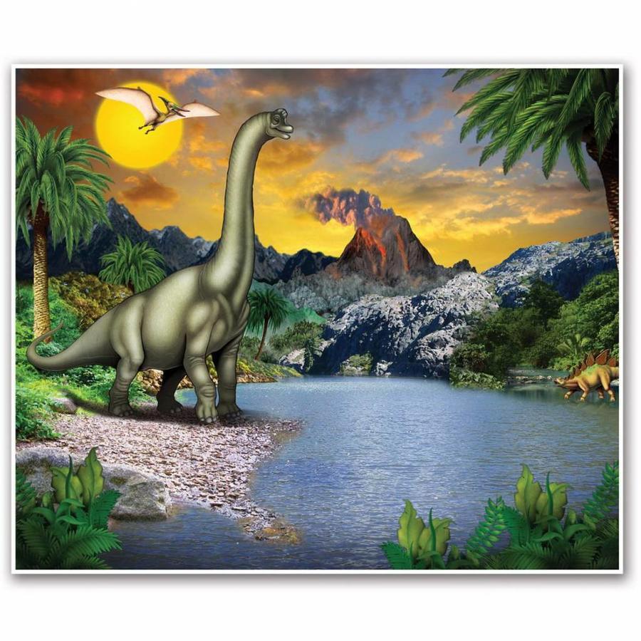 Wandposter Dinosaurus 152cm