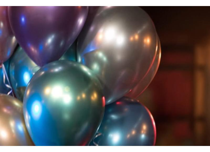 Chrome ballonnen van het topmerk Qualatex