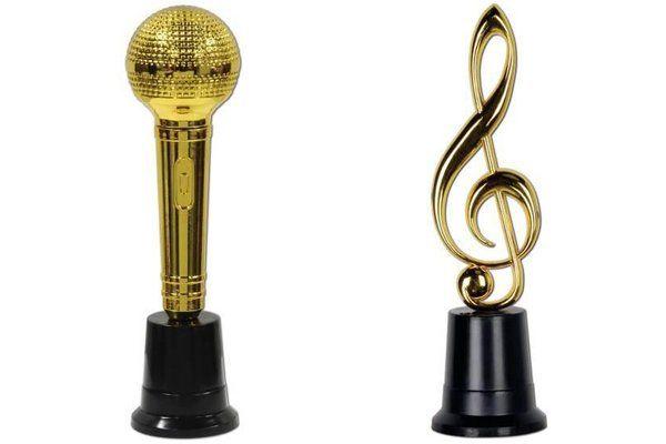 Prijsbekers en medailles