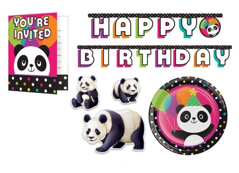Panda versiering
