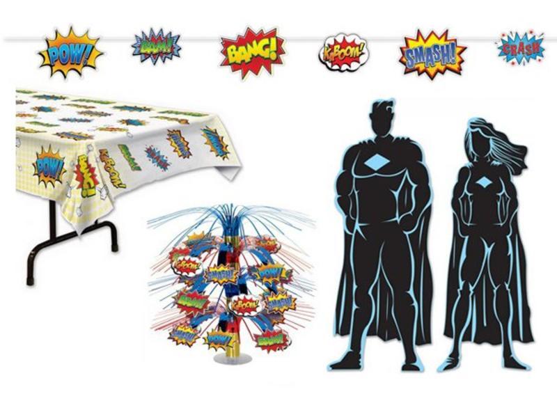 Superhelden versiering