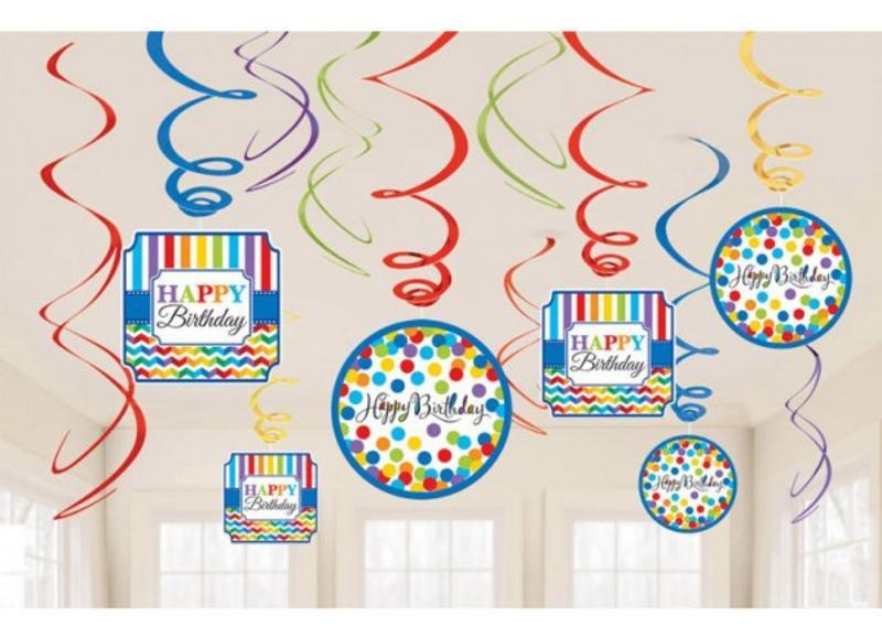 Verjaardag versiering