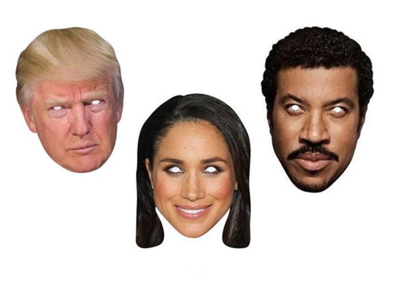 Celebrity maskers