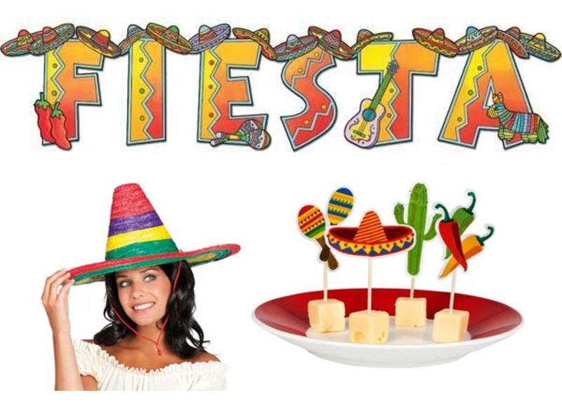 Mexicaanse themafeest versiering