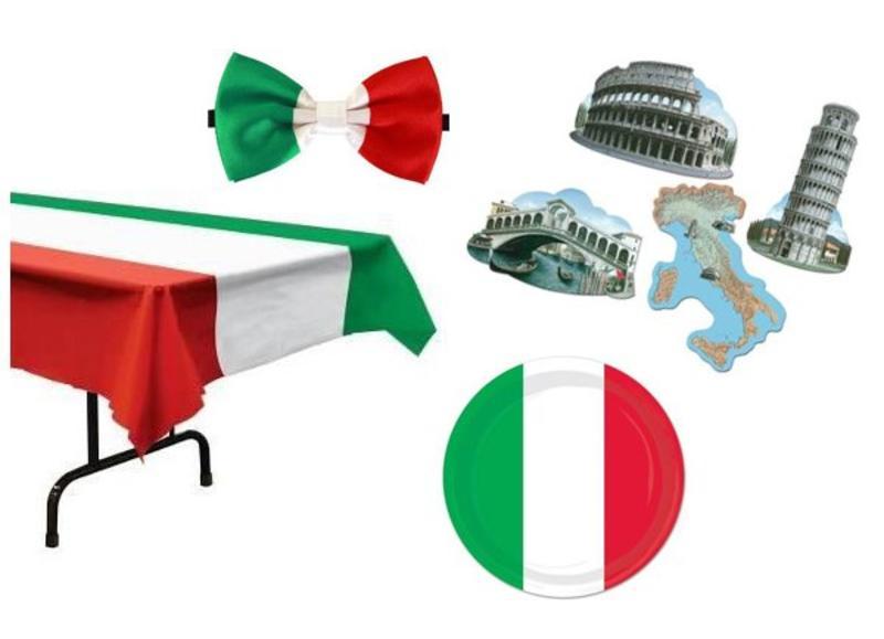 Italië themafeest versiering