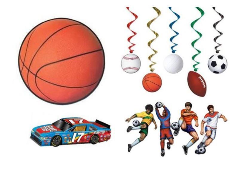Sport themafeest versiering