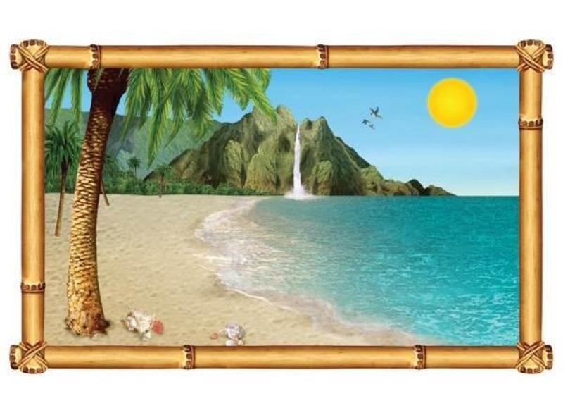 Zee en strand feestartikelen voor een beach party themafeest