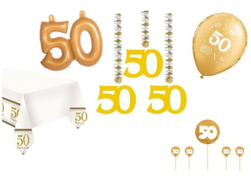 Voorkeur 50 jaar getrouwd ballonnen, slingers en deco - Feestartikelen.nl &OD67