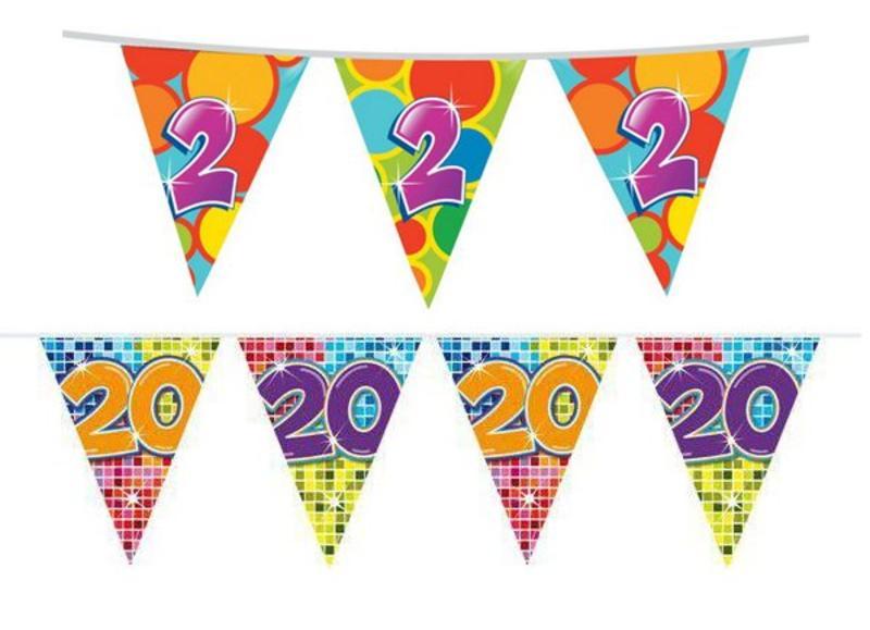 Verjaardag Versiering 2 Tot En Met 20 Jaar Feestartikelen Nl