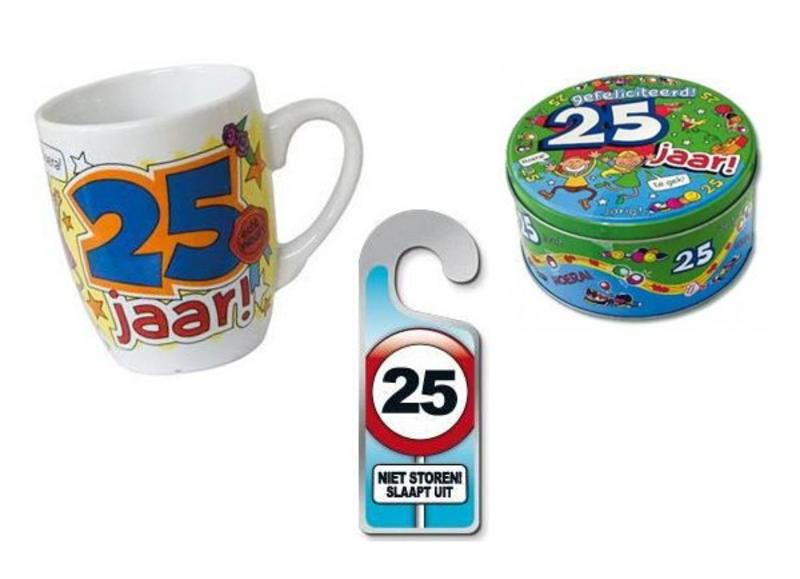 25 jaar verjaardag cadeaus