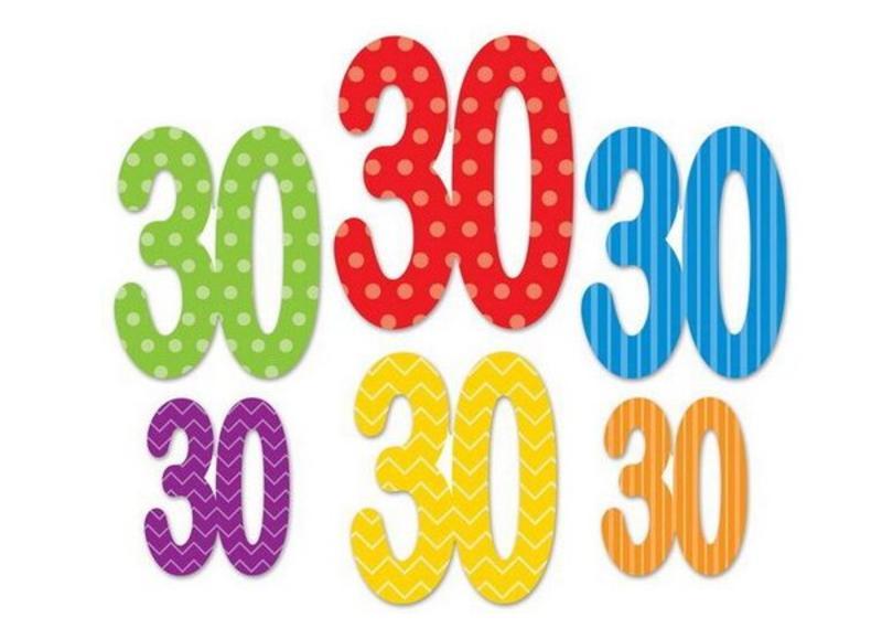 30 Jaar Versiering Slingers En Ballonnen Voor Je Verjaardag
