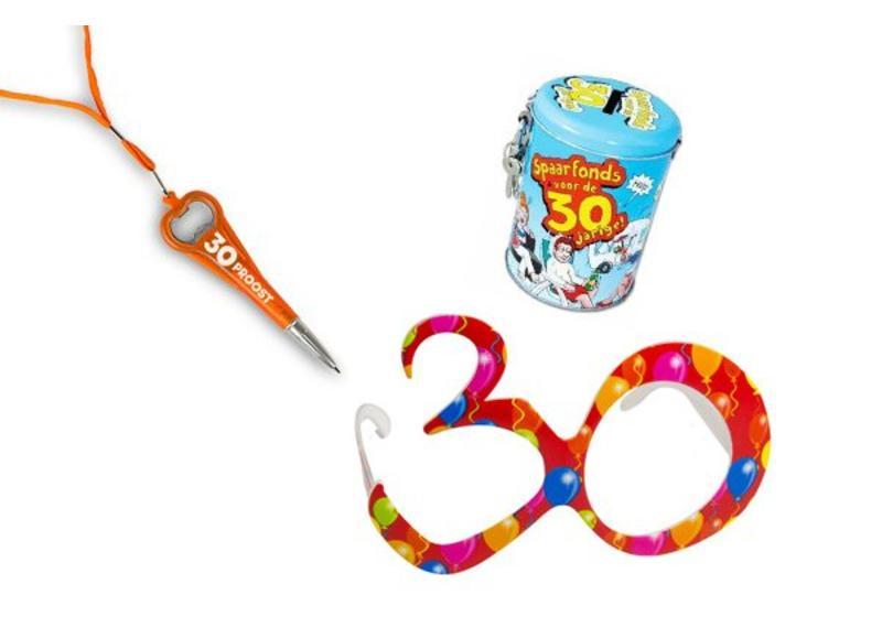 30 jaar verjaardag cadeaus